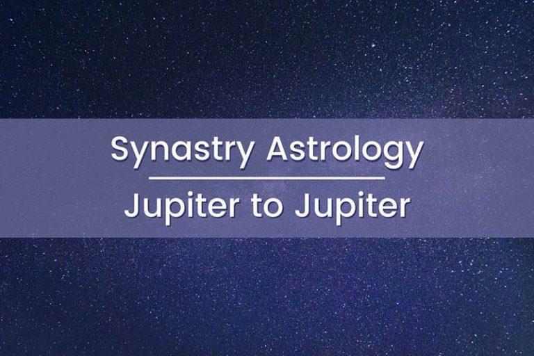 Synastry Astrology Jupiter to Jupiter