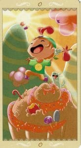 The Fool card Happy tarot