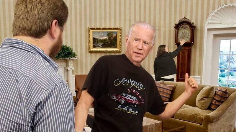 Joe Biden tee