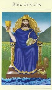 King of Cups Mythic Tarot