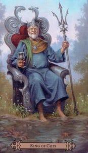 King of Cups Spellcaster Tarot