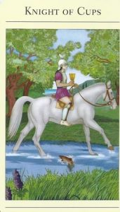 Knight of Cups Mythic Tarot