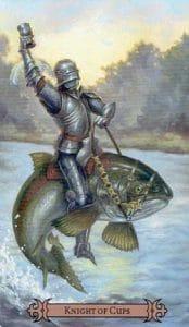 Knight of Cups Spellcaster Tarot