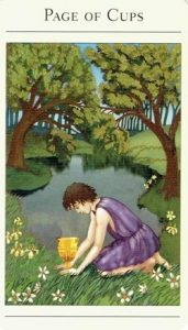 Page of Cups Mythic Tarot