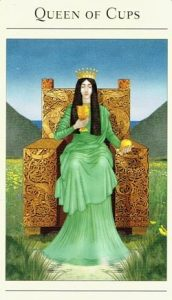 Queen of Cups Mythic Tarot