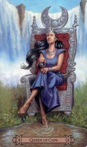 Queen of Cups Spellcaster Tarot