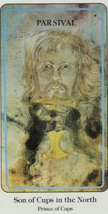 Son of Cups Haindl Tarot