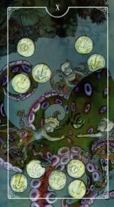 10 of Pentacles Ostara Tarot