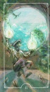 2 of Pentacles Ostara Tarot