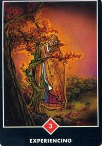 3 of Fire Experiencing Osho Zen Tarot