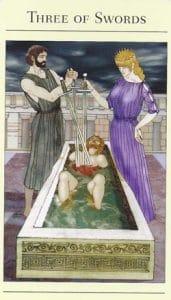 3 of Swords Mythic Tarot
