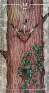 3 of Swords Ostara Tarot