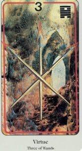 3 of Wands Haindl Tarot