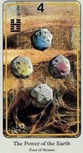 4 of Stones Haindl Tarot