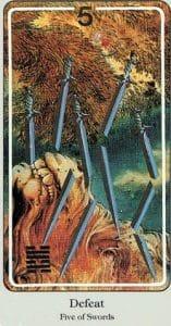 5 of Swords Haindl Tarot