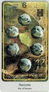 6 of Stones Haindl Tarot