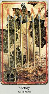 6 of Wands Haindl Tarot