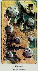 7 of Stones Haindl Tarot