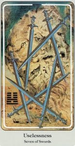 7 of Swords Haindl Tarot