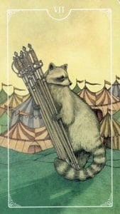 7 of Swords Ostara Tarot