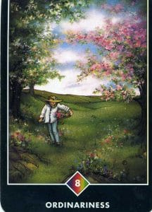 8 of Rainbow Ordinariness Osho Zen Tarot