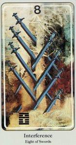 8 of Swords Haindl Tarot