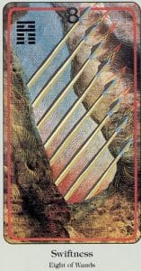 8 of Wands Haindl Tarot