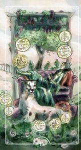 9 of Pentacles Ostara Tarot