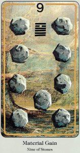 9 of Stones Haindl Tarot