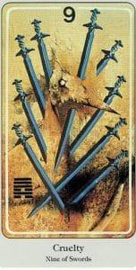 9 of Swords Haindl Tarot