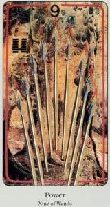 9 of Wands Haindl Tarot