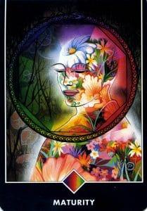 Ace of Rainbow Maturity Osho Zen Tarot