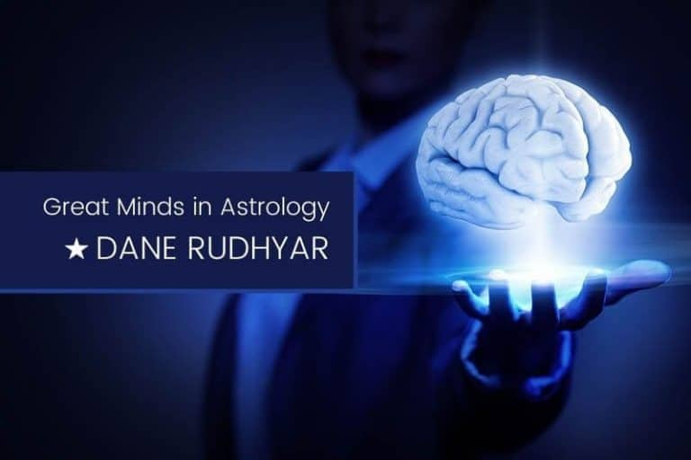 Great Minds in Astrology Dane Rudhyar