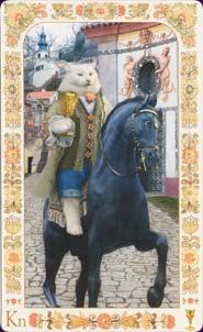 Baroque bohemian cats - Knight