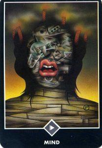 East of Air Mind Osho Zen Tarot