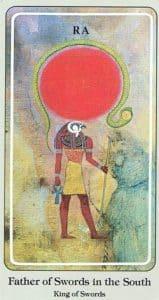 Father of Swords Haindl Tarot