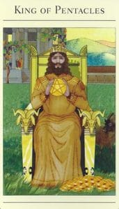 King of Pentacles Mythic Tarot