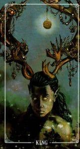 King of Pentacles Ostara Tarot