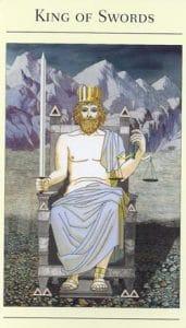 King of Swords Mythic Tarot