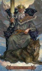 King of Swords Spellcaster Tarot