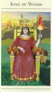 King of Wands Mythic Tarot