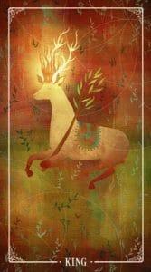King of Wands Ostara Tarot