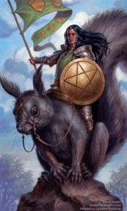 Knight of Pentacles Spellcaster Tarot