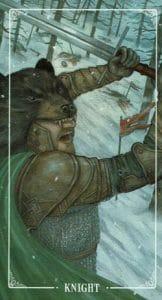 Knight of Swords Ostara Tarot