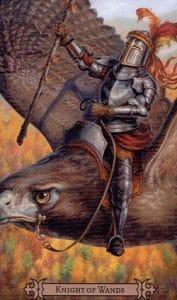Knight of Wands Spellcaster Tarot