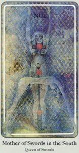 Mother of Swords Haindl Tarot