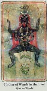 Mother of Wands Haindl Tarot