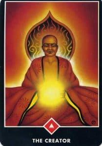 North of Fire The Creator Osho Zen Tarot