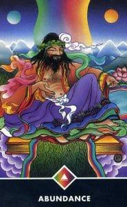 North of Rainbow Abundance Osho Zen Tarot