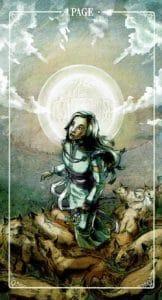Page of Pentacles Ostara Tarot